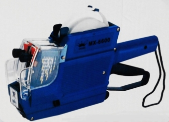 ZicZax Mesin Lebel Harga 2 Baris / Crown Lebel 2 Baris MX-6600