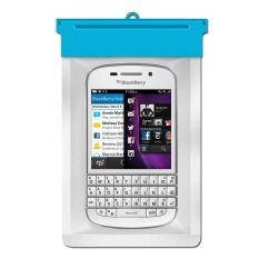 Zoe BlackBerry Q10 Waterproof Bag Case - Biru