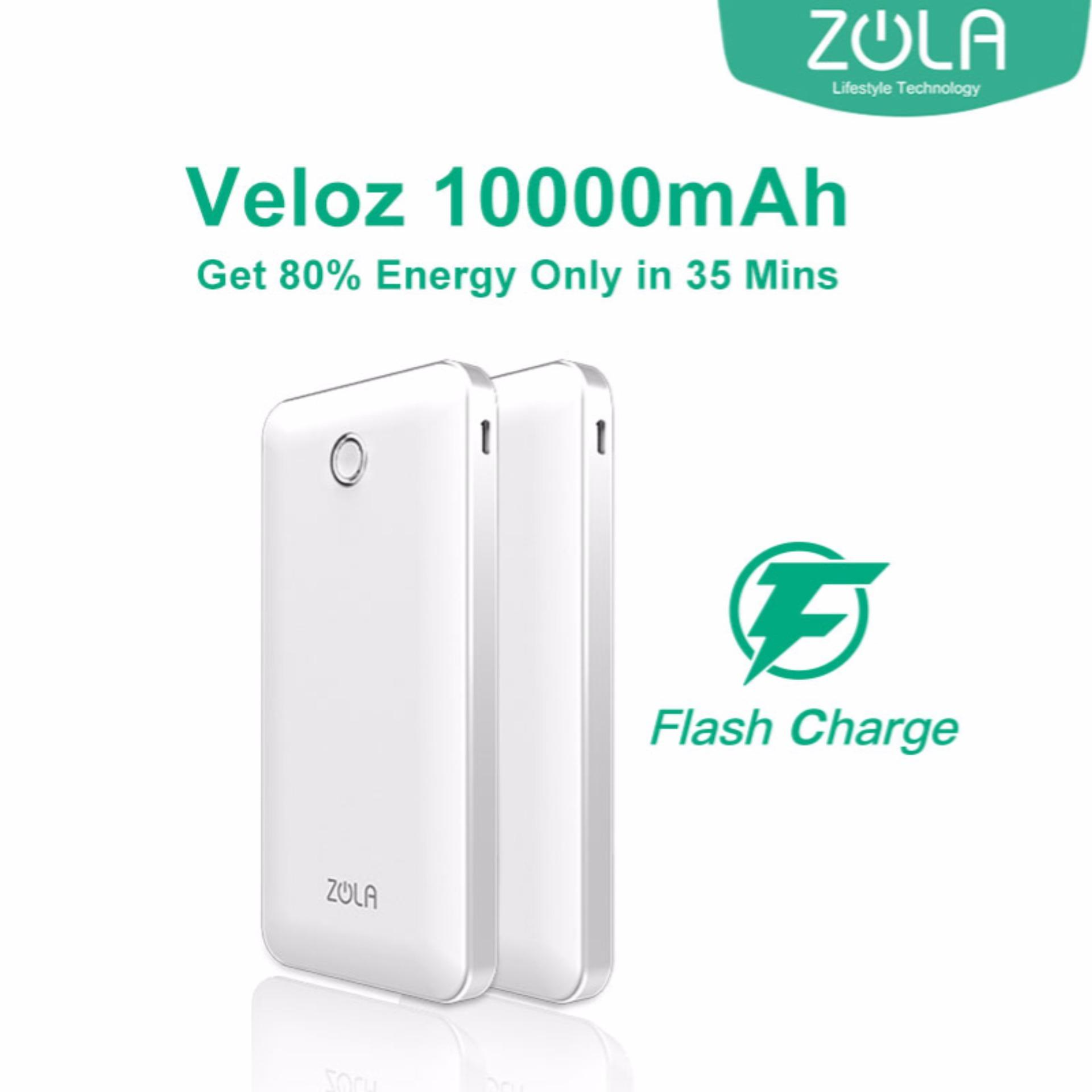 ... Real Capacity 9000 Mah Source · Zola Veloz 10000 mAh Quick Charge 3 0 Powerbank White