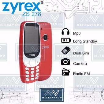 Zyrex Zs 278 - Dual Sim - FM Radio - Camera