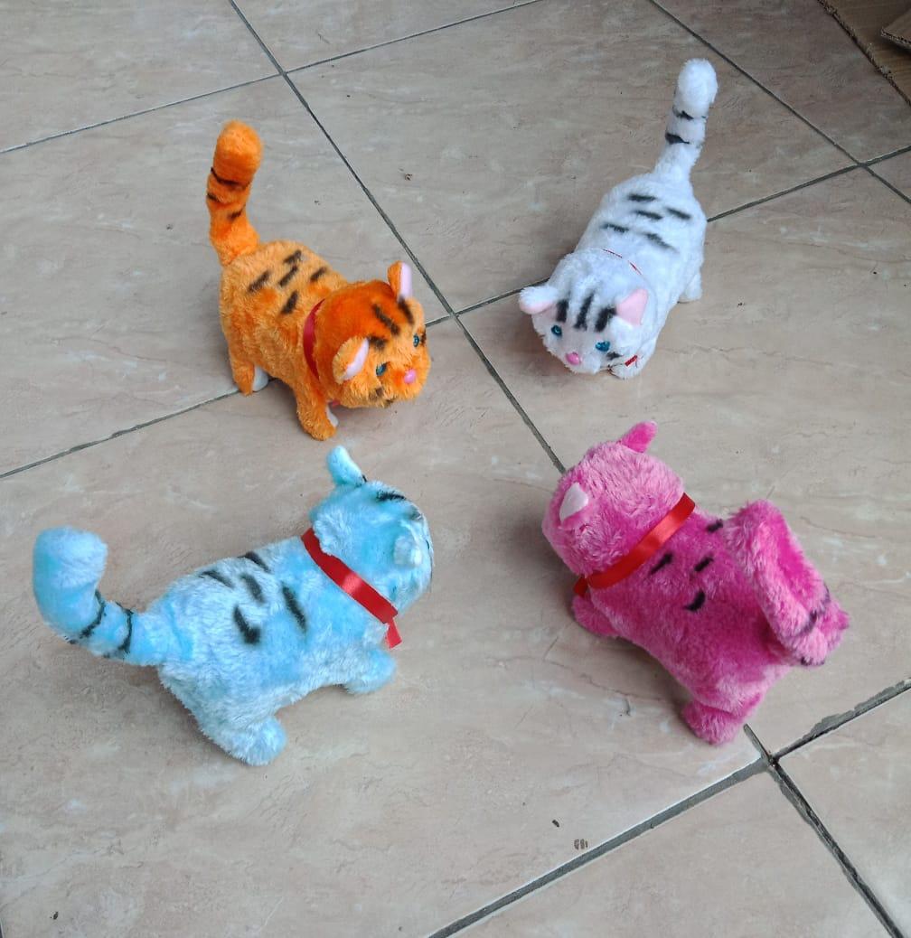 Mainan Anak Anak Model Kucing Kucingan Bisa Bergerak Dan Bersuara Pakai Batrai A2 Tersedia 4warna Tidak Free Batrai Lazada Indonesia