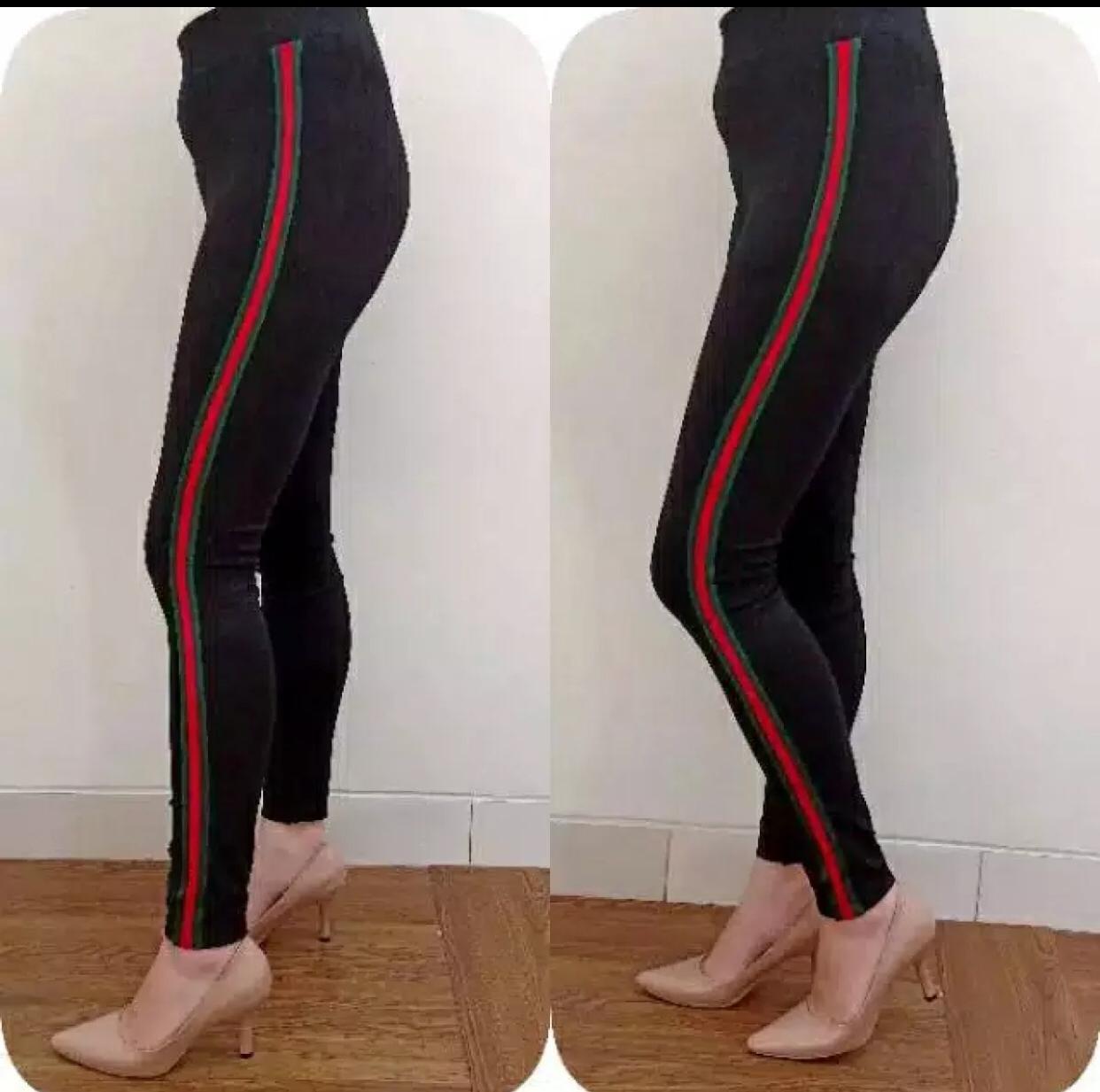 Celana Panjang Wanita Celana Santai Celana Olahraga Celana Legging Luna Bahan Scuba Lazada Indonesia