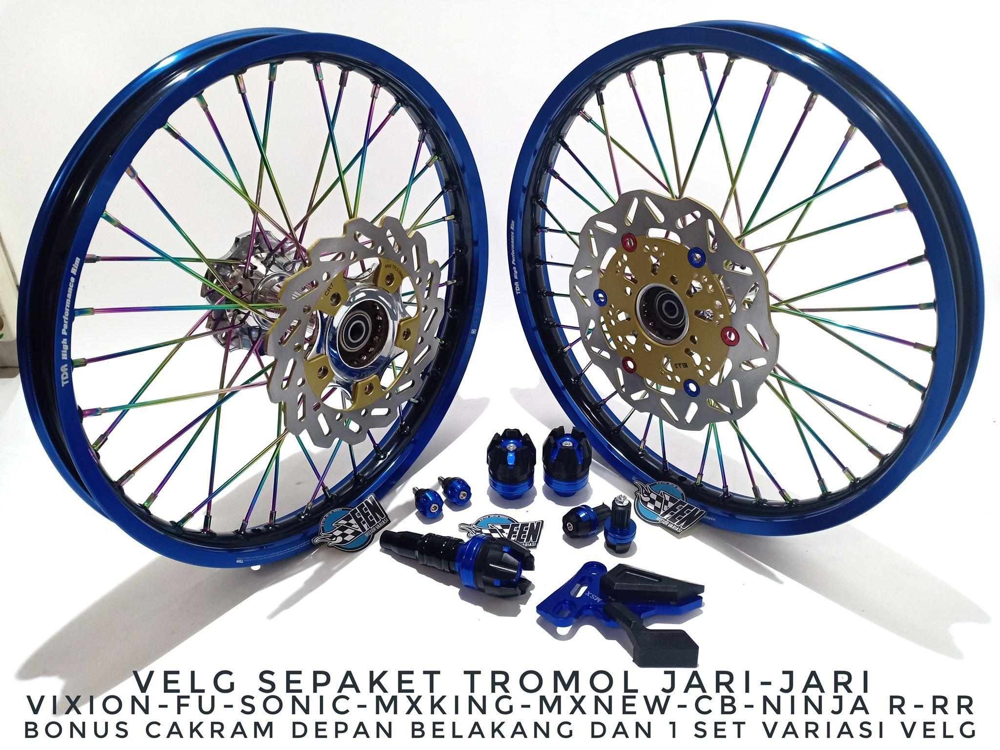 Velg TDR Vixion New - Vixion Old - Vixion Nvl Tromol Becak