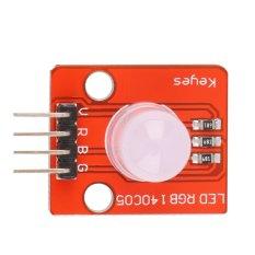 Rp 48.000. O 1 buah 10 mm modul LED RGB warna penuh bangunan elektronik blok untuk ...