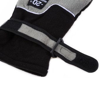 1 Pair Full Finger Warm Gloves for Outdoor Sports ONE SIZE InkPainting--TC - 3