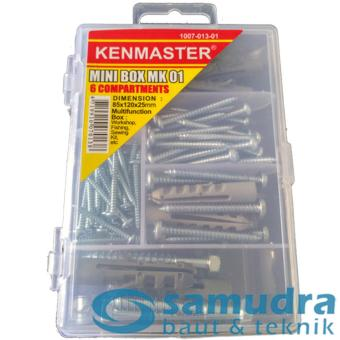 100 Pcs Sekrup Lion Fisher Series S4 - S10 Mini Box Fischer ScrewDIY - 4