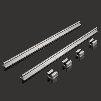 ... 2 X SBR12-700mm 12MM Linear Bearing Rail Slide Guide Shaft + 4Pcs SBR12UU Blocks ...