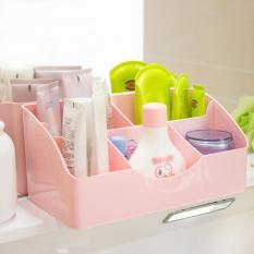 ... Kapasitas Besar Kotak Penyimpanan Source 360DSC hati Korea 5 kisi plastik kosmetik meja rias kotak penyimpanan