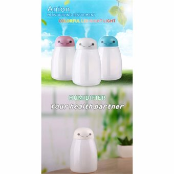 400MLAir Aroma Essential Oil Diffuser Aromatherapy USB UltrasonicMist Maker Desktop With 7 Color .