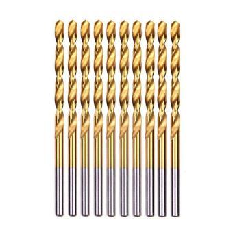 ... bor pemotong kayu gergaji. 50 buah TITANIUM dilapisi HSS alat baja kecepatan tinggi mata bor1/1.5/2/