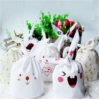 50 buah/banyak kue biskuit kemasan tas plastik permen pernikahantas hadiah dekorasi .