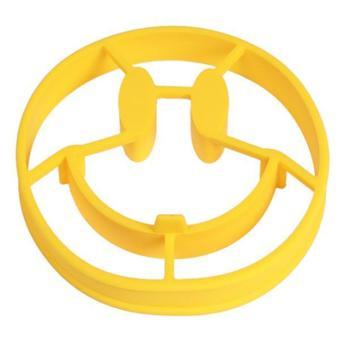 Ai Home Cetakan pancake telur rebus tersenyum Kuning