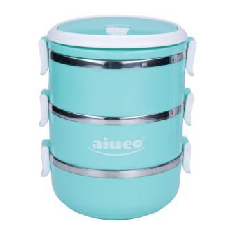 BELI SEKARANG Hoover - Piring Makan Tebal 8 4008T Klik di sini !!! Source · AIUEO Eco Lunch Box Stainless Steel Rantang 3 Susun Glossy · >>>>