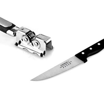 AKA Asahan Pisau Surmene Knife Grinder / Knife Sharpener - Silver - 2