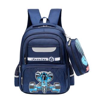 Anak laki-laki di bawah usia tas ransel beban tas sekolah tas sekolah ·   d89200dbe5
