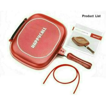 AR-RAHMAN - WAJAN DOUBLE PAN / PENGGORENGAN / FRIED PAN / PANCI HAPPY CALL 32CM UKURAN BESAR ORIGINAL