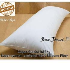 Bantal Cinta JESSELYN - Bantal Silicone Fiber 1kg Bantal Tidur
