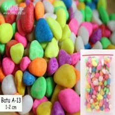 Batu Hias Warna Warni Rainbow Terrarium Kaktus Sukulen Kode A-13