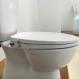 Harga Terbaru Bebas listrik Hibbent Bidet Toilet duduk dengan penutup - Amerika gaya Toilet Bidet bundar