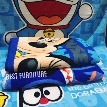 Best Handuk Mandi Anak Karakter Anak Laki-laki uk 75 x 150 - Multicolor