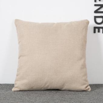 BolehDeals Cinta Ma Kata Sarung Bantal Linen Bantal Sofa KasusTambahan Dekorasi Rumah (International) - 3