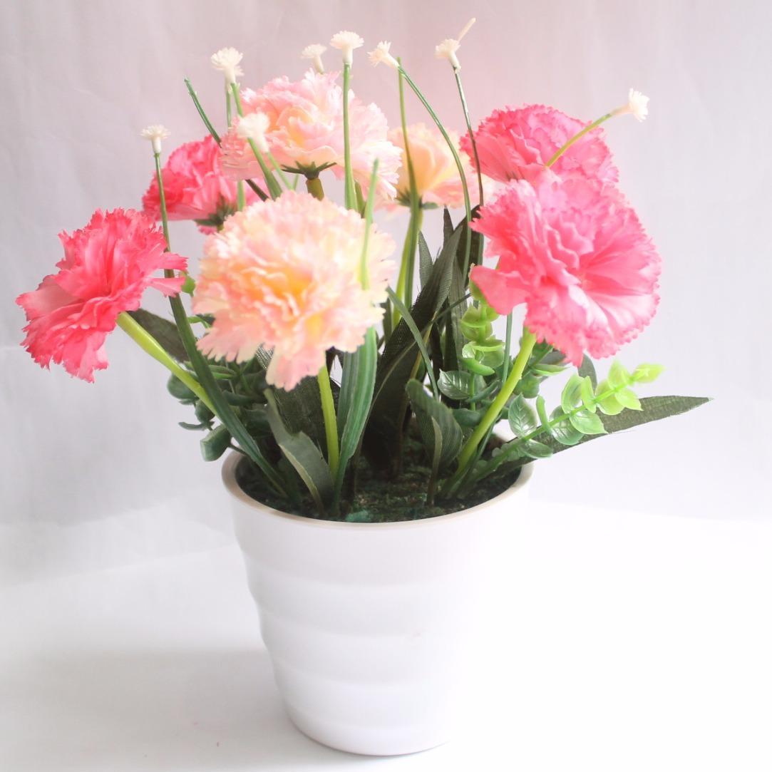 Bunga Anyelir Vas Melamin Murah