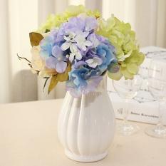Bunga Buatan Palsu Bunga Kecil Bonsai Plastik Simulasi Ornamen Kecil Ruang Tamu Dekorasi .