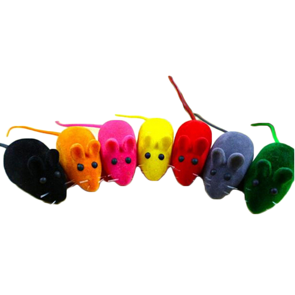Buytra 2Pcs Kitten Playing Toy Sound (Multicolor)