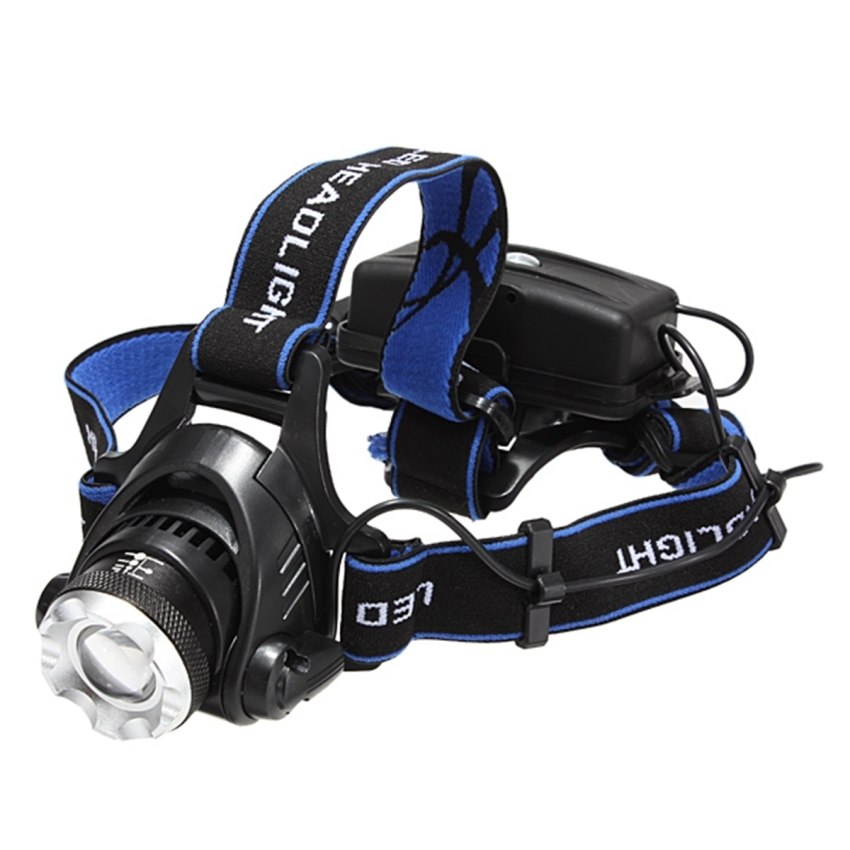CREE XML T6 LED Headlamp Headlight 1200Lm Zoomable- intl
