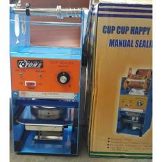 Cup Sealer Manual (alat press gelas plastik ) Merk ETON NANKA