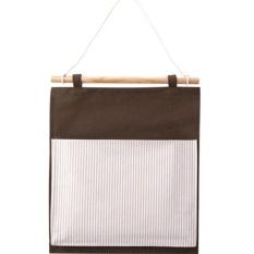 D-Pocket Hanging-Tas Penyimpanan Asrama Kain Pintu Setelah Pocket Linenwall Penyimpanan Tas Lemari