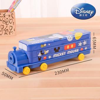 Disney anak-anak multi-fungsi kotak pensil kotak pensil alat tulis alat tulis