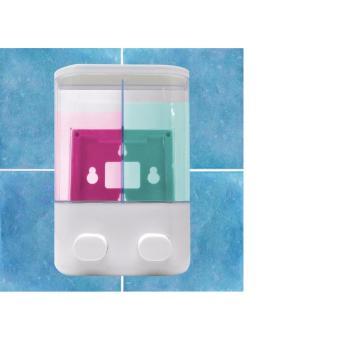 Dispenser Sabun 2 Tabung Bisa Untuk Sabun Mandi Dan Shoo jual dispenser sabun dan so 2