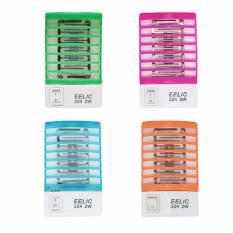 EELIC 224 4PCS SMD LED BIRU,ORANGE,PINK,HIJAU 2 Watt Multifungsi Alat Electronik Anti Nyamuk Lampu Tidur