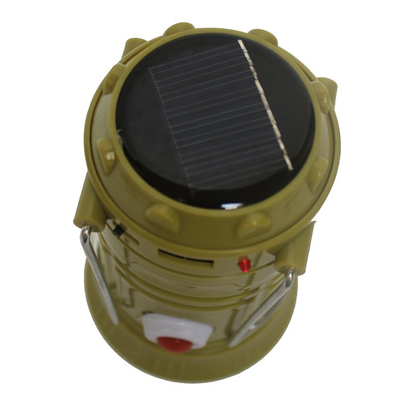 Eelic Qy 5800t 1w 6 Smd Led Warna Biru Lampu Senter ... - Power Bank Solar Besi LED Tenaga Surya. Source · Power Bank Tenaga matahari + LED lampu senter.