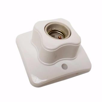 ... Putih Terkini Source · EELIC FIG 884 Fitting Lampu Plafon Keramik Persegi Rumah Lampu Plafon Ukuran E27