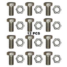 Ring Monel Sharrky Isi 20Pcs Bahan Plastik + Mur Baut - Variasi Motor - Biru .