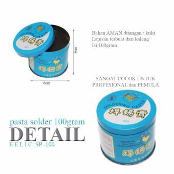 EELIC SP-100 8PCS Pasta Solder Mata Solder Dari Sisa Timah - 2