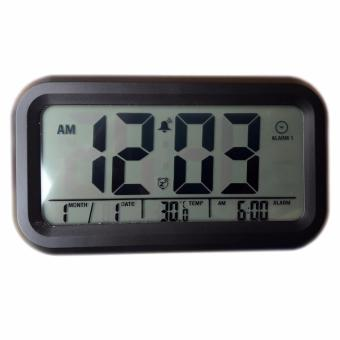 harga Eigia Jam Digital Liquid Crystal LED Alarm Waker Minimalis WatchWeeker Jam Meja Weker Waker JP9901 Desk Clock Unik Modern DesignDigitime Ada Waktu Kalender Suhu Temperatur Mudah Digunakan - Hitam Lazada.co.id