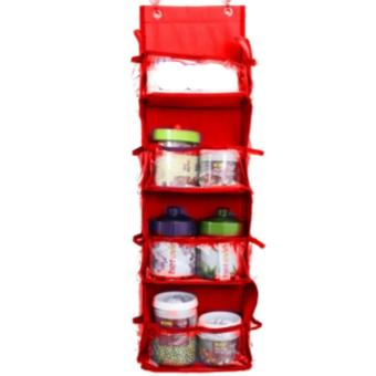 Emwe RMO rak multifungsi serba guna organizer rack multifunction organizer hanging Rak Gantung Kosmetik / Obat