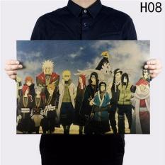 Fancyqube Naruto Klasik Kartun Anime Manga TV Menunjukkan Karakter Poster H08-Intl