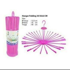 Folding Hanger 30 Stick / gantungan jemuran baju putar bulat 17000591