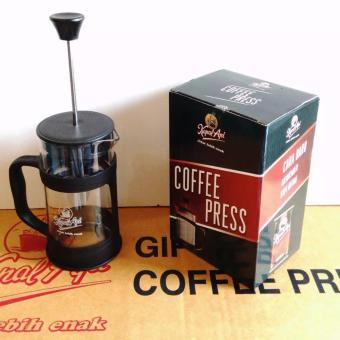 French Press, Plunger, Coffee Press - Hitam - 2