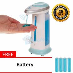 Genius Automatic Soap Dispenser Dispenser Sabun Sensor Otomatis Soap Magic Free Battery
