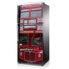 Goodhand Sticker Kulkas 1 Sisi 60x150 Seri London Bus Tower