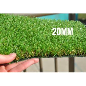 Grass Rumput sintetis tinggi 20mm - 4 .