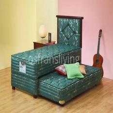 120 x 200 Ketebalan 25 Cm Mattress Only - Free 1 Bantal Helena .