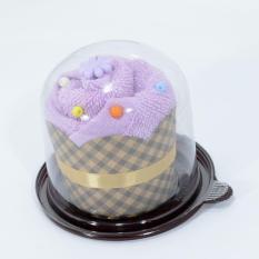 Handuk Souvenir Cake - Ungu