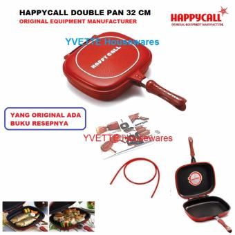Happy Call Original Equipment Manufacturer Double Pan King Size 32 CM - Yang Ori Ada Bonus Resepnya 1 Buku