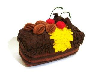 Happy Pelangi Craft Tempat Aksesoris Cake Coklat